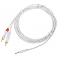 Cablu Audio Cordial CFY 3 WCC Snow