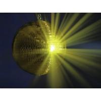 GLOB DISCO EUROLITE Mirror Ball 40cm gold