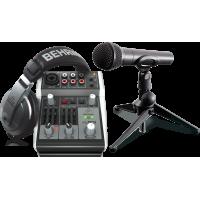 Set Inregistrare Audio Behringer Podcastudio 2 USB